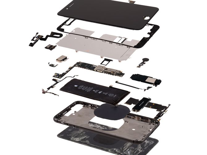 RT @CNET: Your $800 iPhone 8 Plus has $290 worth of components in it...
