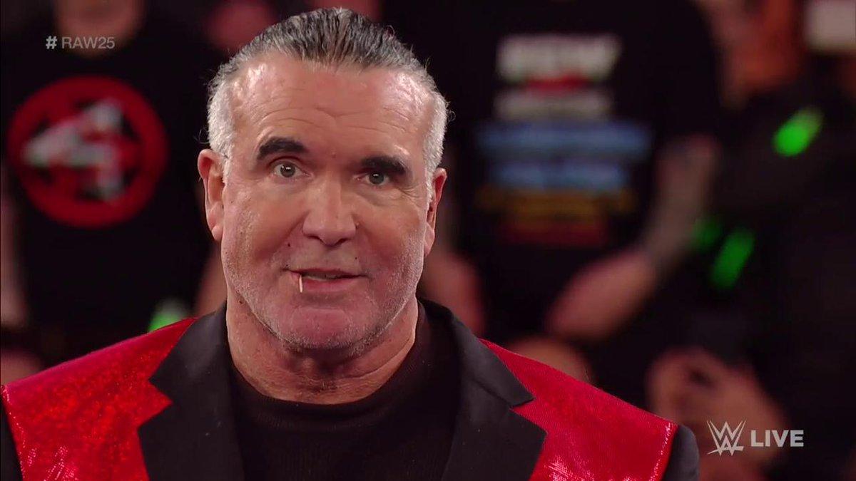 RT @WWEUniverse: HEY YO!  #RAW25 @SCOTTHALLNWO https://t.co/DxTKJbqhLZ