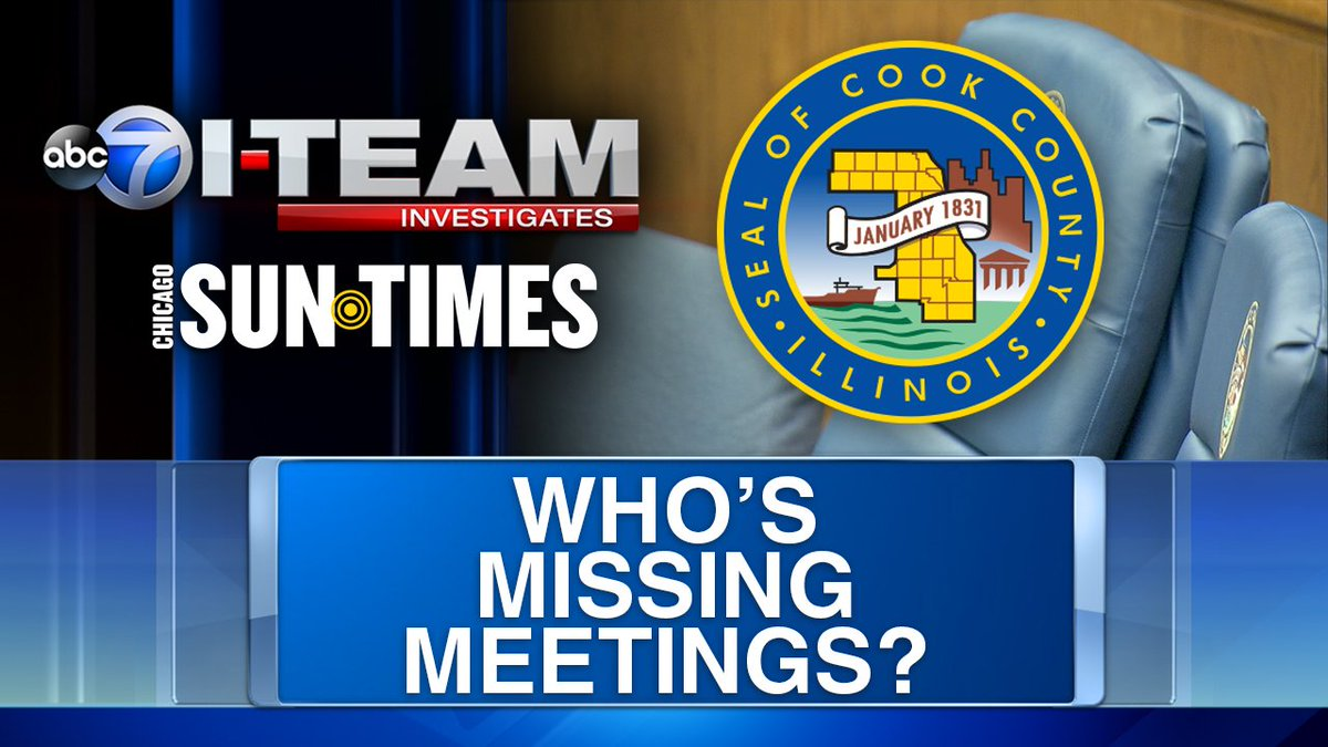 Cook County Commissioners face questions on missed meetings