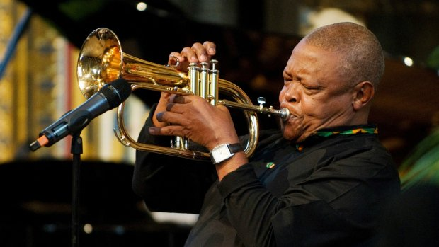South African jazz musician Hugh Masekela dies at 78