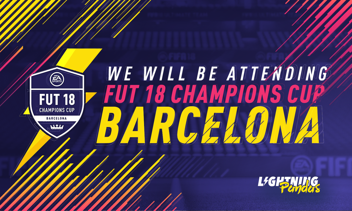Vamos @DragonFIFA_! 🇪🇸🇪🇸  This weekend, the Lightning Pandas will be competing at the first #FUTChampions Cup 🏆 in Barcelona!  #FIFAeWorldCup ⚡️🐼 https://t.co/Cuxe3da5iM