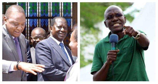 There is enough evidence of ongoing Raila-Uhuru secret talks - Boni Khalwale