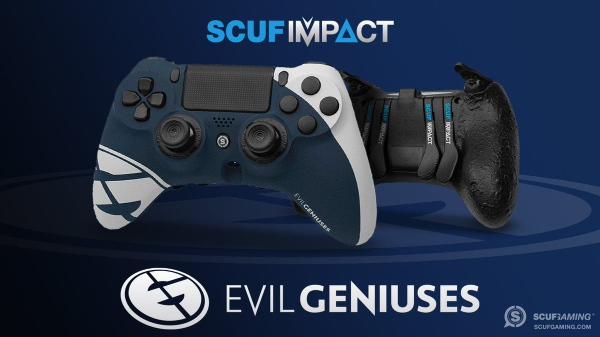 RT @ScufGaming: Break down your opponents with the @EvilGeniuses SCUF IMPACT.  https://t.co/6ZlgEfPdLS https://t.co/gAaDIe505j