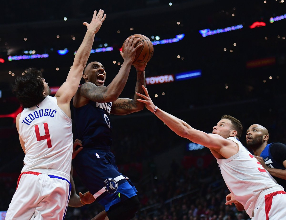 Wiggins Carries Timberwolves To 126-118 Victory OverClippers