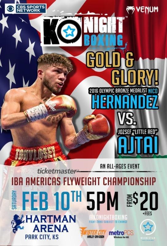 Nico Hernandez battles Jozsef Ajtai on 2/10 https://t.co/D4RTNrRD3I #PressRoom #JozsefAjtai #allthebelts #boxing https://t.co/k8T6Jwd3Xd