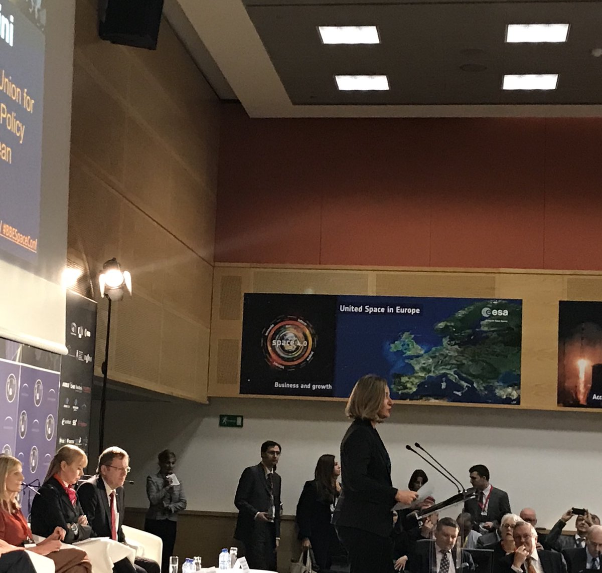 test Twitter Media - #BBESpaceConf @FedericaMog #EU has the second largest budget for space in the world. We can be the space power the world needs: innovative, autonomous, always seeking cooperation to the benefit of our citizens, our industry and our partners in the world https://t.co/cKeaoSGPw6