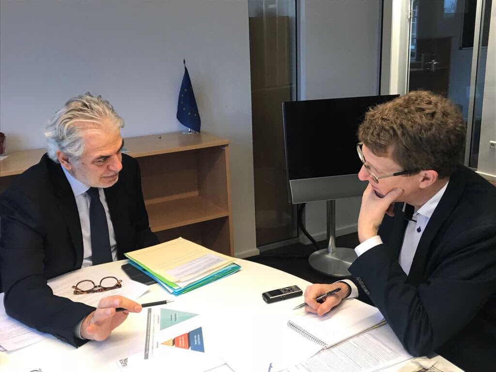 test Twitter Media - Stimulating discussion w/ @kristeligt 's @HenrikHoffmannH about @EU_Commission's vision via #rescEU for a more resilient & better prepared #Europe for stronger response to disasters & to the effects of #climatechange. Member States remain the key players in this effort. #Denmark https://t.co/DWpPLic20q
