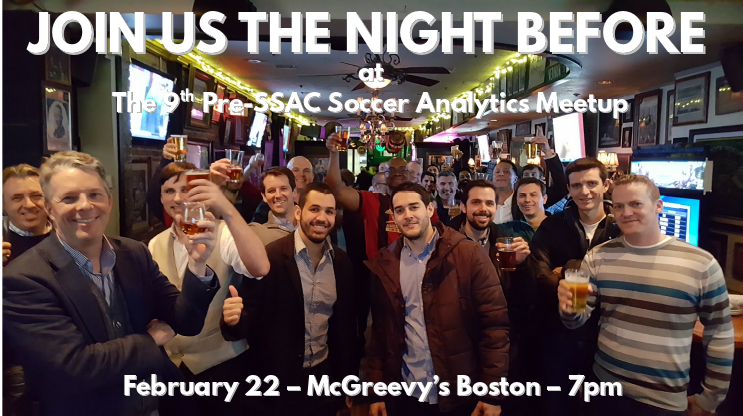 test Twitter Media - The night before #SSAC18... Let's raise a glass to soccer analytics.  See you in Boston. https://t.co/Uph6eDzpLA