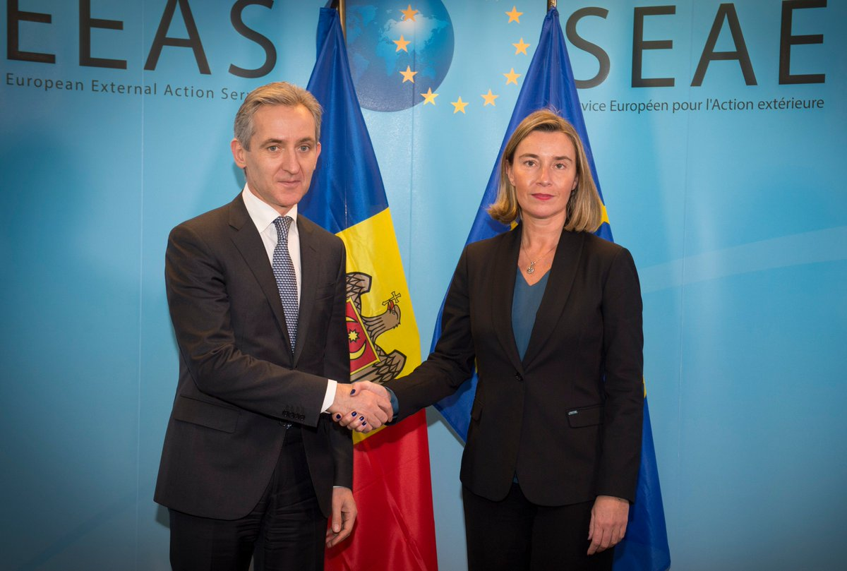 test Twitter Media - .@FedericaMog met with @IurieLeanca newly-appointed Deputy Prime Minister for European Integration of 🇲🇩Moldova  https://t.co/aFr8OoWLaO https://t.co/dubBQIsVAV