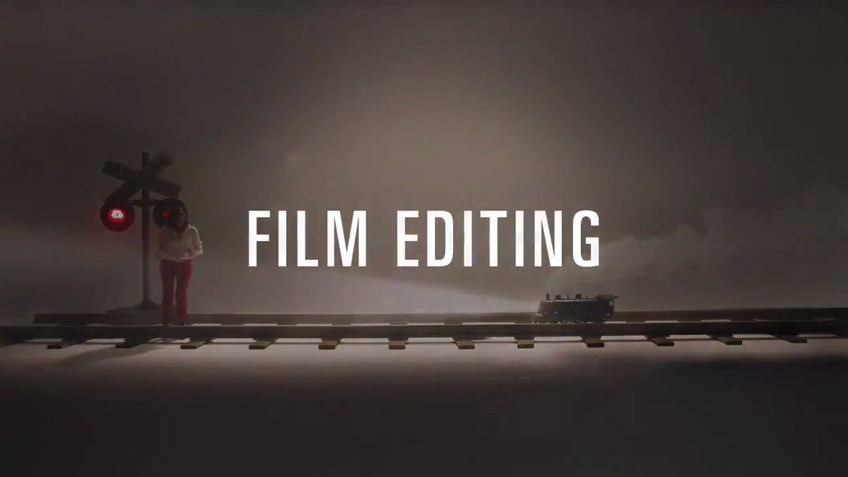 RT @TheAcademy: An introduction to Film Editing, with Molly Shannon. #Oscars #OscarNoms https://t.co/l2WdEawYnG