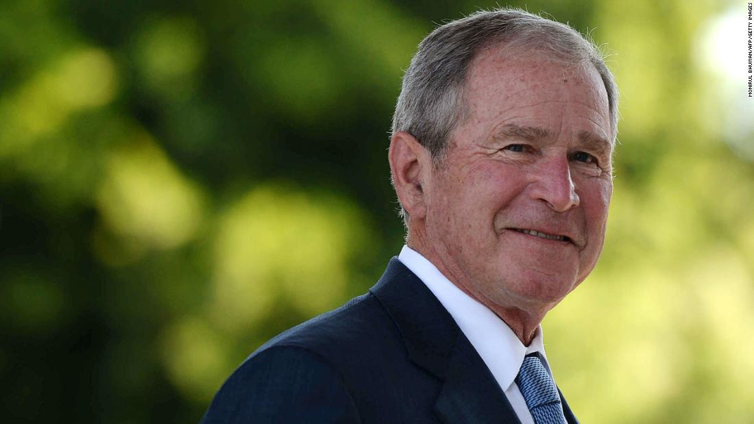 George W. Bush's favorable rating has grown from 33% to 61% since he left office