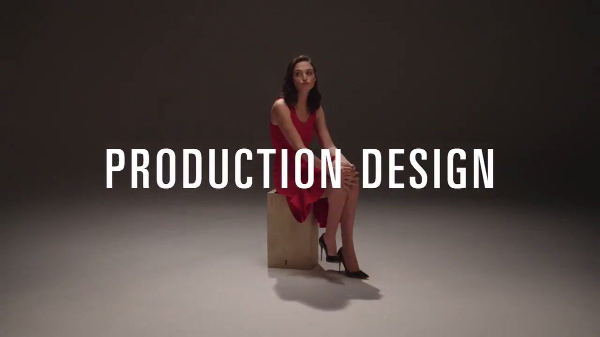 RT @TheAcademy: An introduction to Production Design, with @GalGadot. #Oscars #OscarNoms https://t.co/cdt0LpGxWV