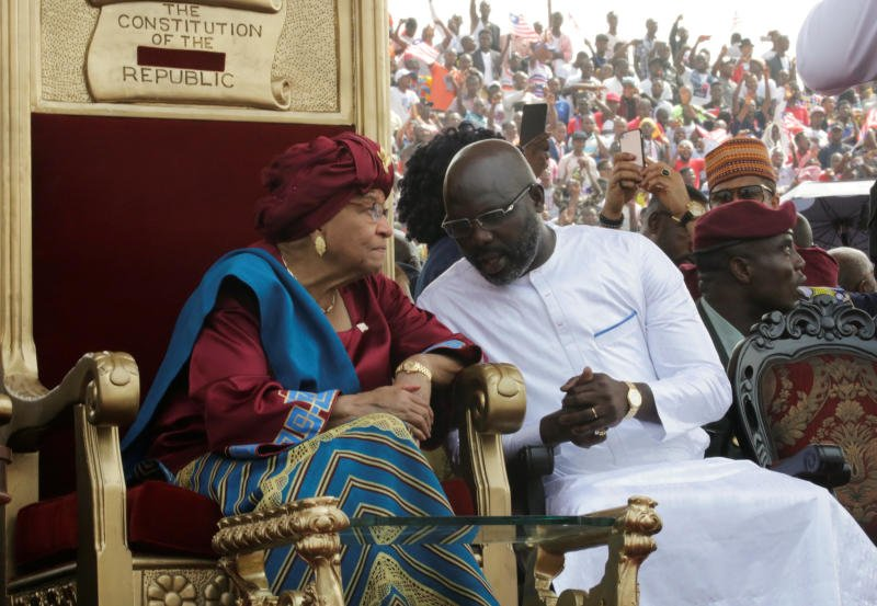 George Weah lists five major issues to tackle as he assumes office