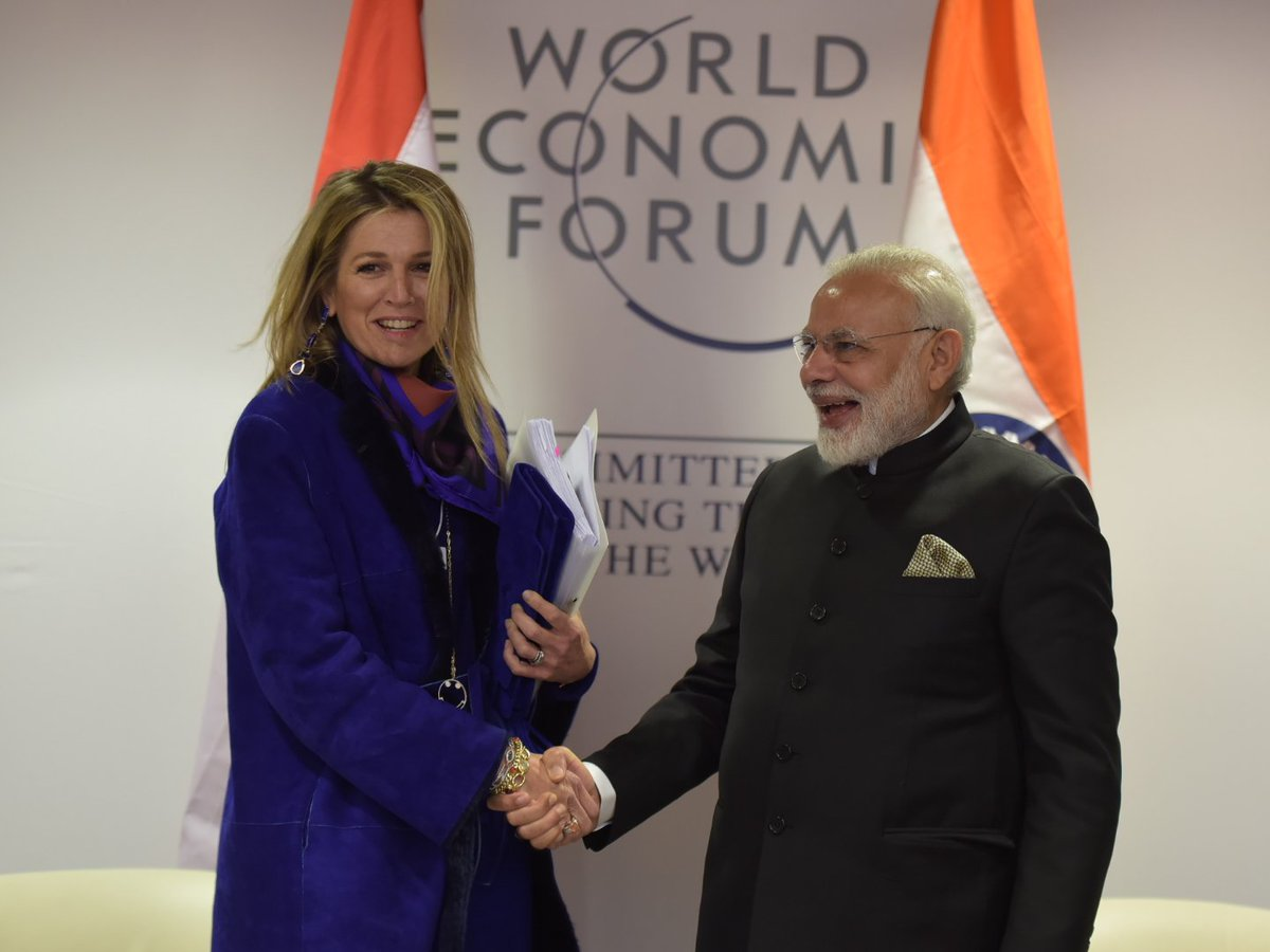 RT narendramodi Had a fruitful interaction with Queen Maxima of the Netherlands. https://t.co/iXi1UYYsX5