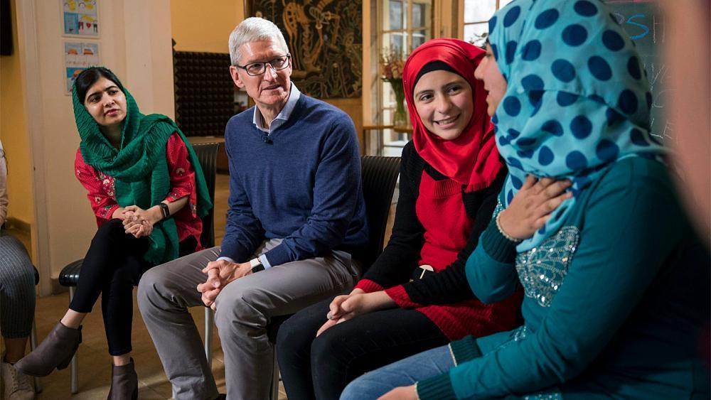 Apple to help Malala Fund educate girls