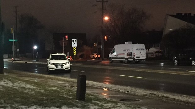 Pedestrian struck by vehicle in Newmarket suffers critical injuries