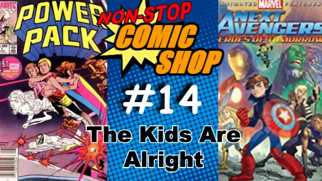 New NSCS! Jordan and Brendan discuss kids in comics. Specifically Power Pack and Next Avengers. Or is it Avengers Next...? https://t.co/FjIMrotr4R #Marvel #comics #kids #Avengers https://t.co/XQV3UCeseP
