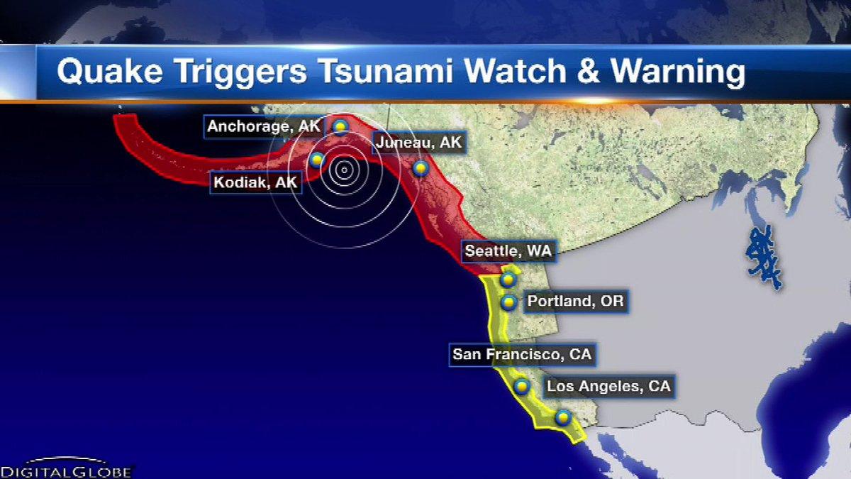 Alaska hit by 7.9 earthquake; tsunami warning canceled