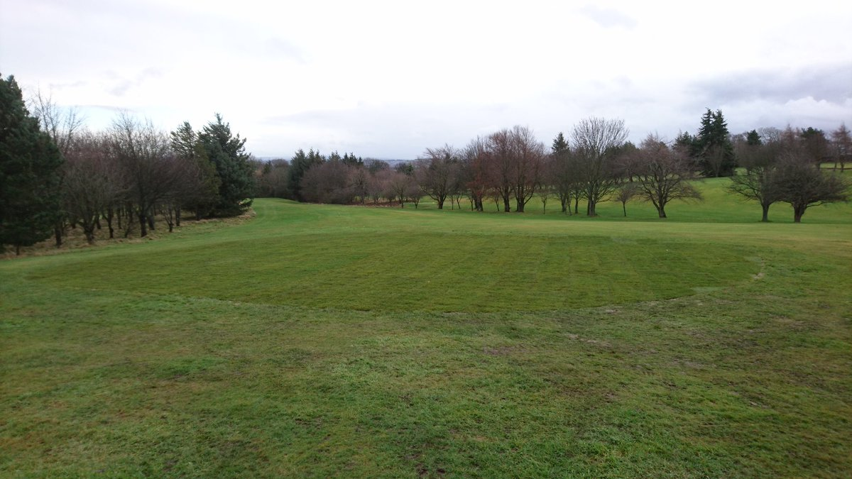 test Twitter Media - Three down one more to go. Turfing these old bunkers has been a bit emotional to be honest as we've had to deal with snow,ice,rain and sleet. Basically everything except sunshine. https://t.co/HTvRpgzAAd