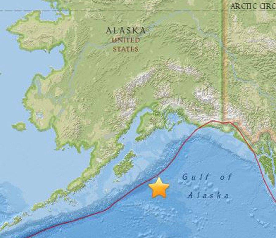 Tsunami warnings as powerful quake hits off Alaska