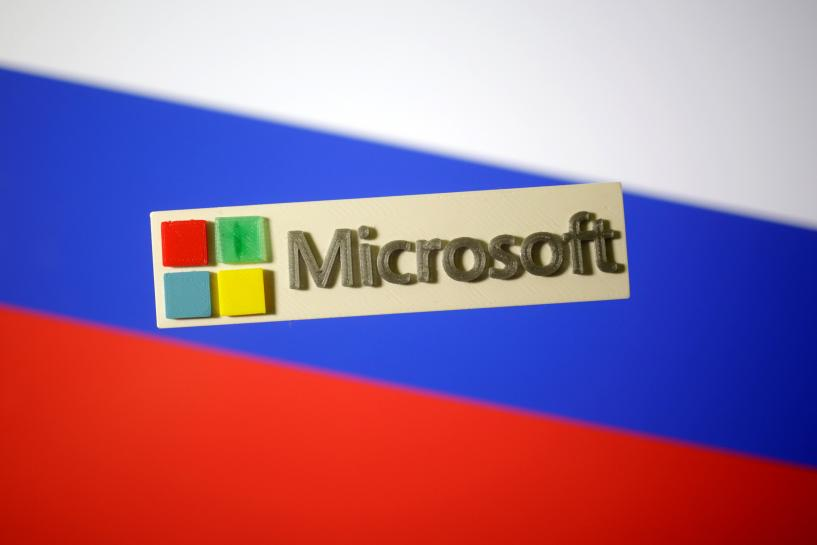 Microsoft could lose big if it curbs sales in Russia: minister