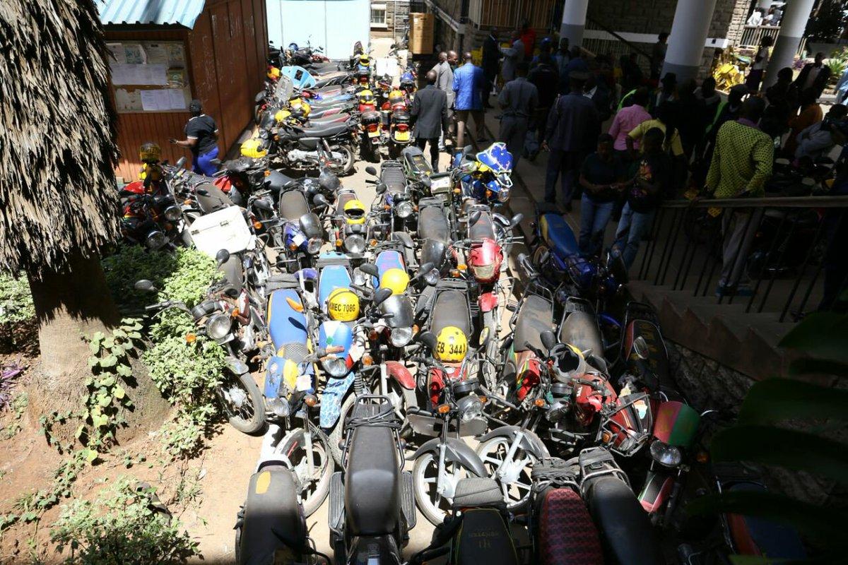 Defiant Boda Boda operators arrested for accessing Nairobi CBD