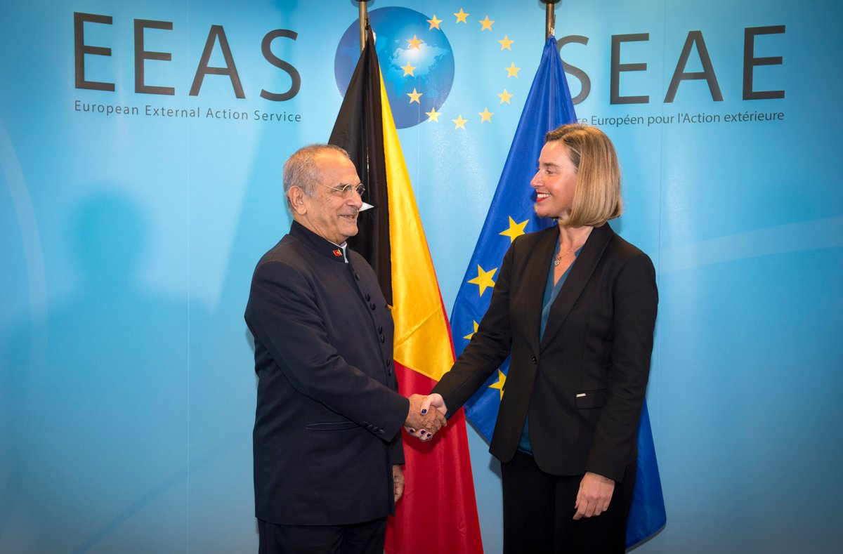 test Twitter Media - .@FedericaMog met today with the Minister of State and Counsellor of National Security of 🇹🇱Timor-Leste, José Ramos-Horta. Here is what they discussed https://t.co/0CMBKZnMLa https://t.co/OrlQcOW0TP