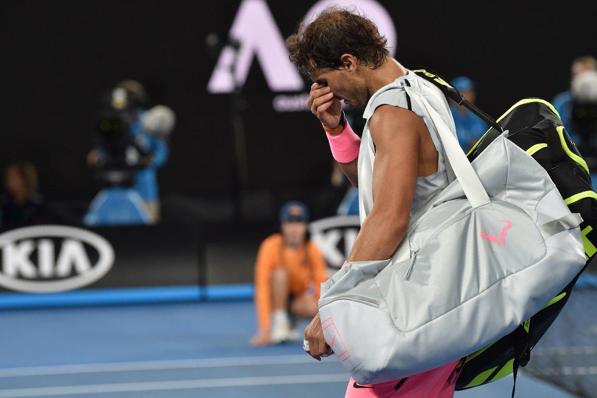 Abierto de Australia: qué le pasó a Nadal que abandonó en el 5º set ante Cilic https://t.co/Q1z8BT8rRm https://t.co/WEvJmZaEm3