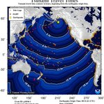 What is the difference between a tsunami watch and a tsunami warning?