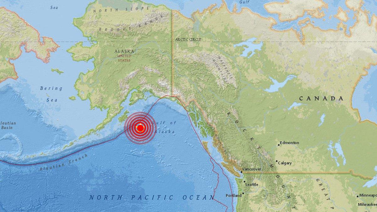 #Tsunami Terremoto en Alaska: declaran alerta de tsunami por un sismo de 7,9 grados https://t.co/nx3jl64i0K https://t.co/XHzixdDeND