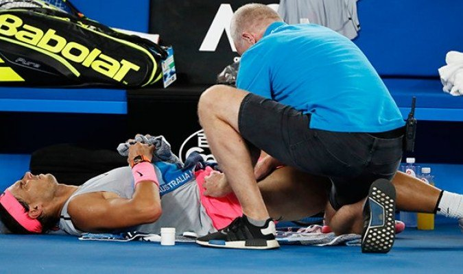 Rafa Nadal se retira ante Cilic https://t.co/gsXDV2hP7S https://t.co/072CsDy6AT