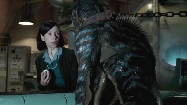 'The Shape of Water' leads Oscars race with 13 nominations