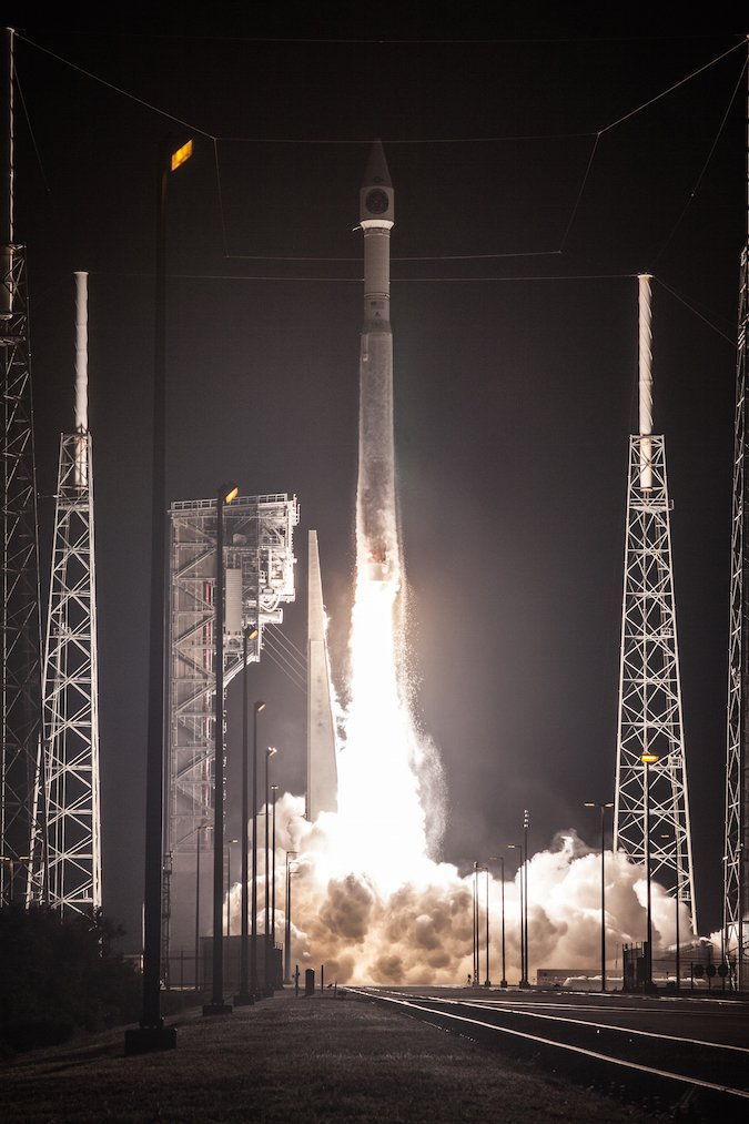 Friday night's Atlas 5 launch from Cape Canaveral carried a US Air Force missile detection and warning satellite to orbit. Look back on the launch with this photo gallery: https://t.co/2eqhG3IcgA https://t.co/kRbjEQmgc9