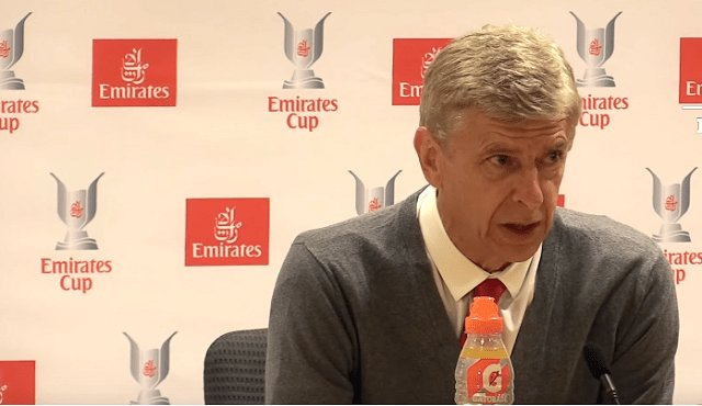 Wenger rules out Arsenal spree despite revenue rise