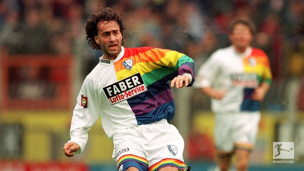 #Karneval specials, #Oktoberfest designs, experimental combos and more 🤡🍺🌈   The 🔟 beautifully revolting #Bundesliga kits we all love to hate 👉 https://t.co/E0HdsTTACY https://t.co/geCBpWKdHD