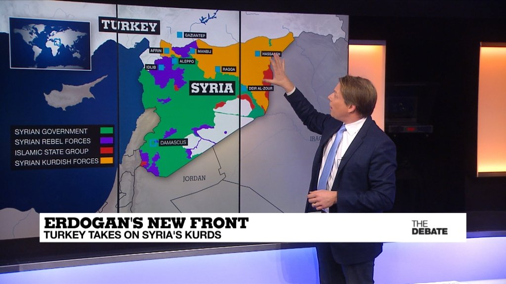 THE DEBATE - Erdogan's new front: Turkey takes on Syria's kurds (part 2)