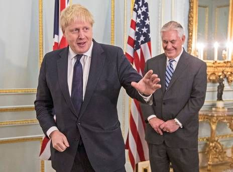 Tillerson's 'special' attention for UK