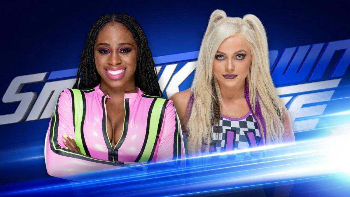 #Naomi & #LivMorgan  1 On 1 & One 6 Man  Tag Team Match  Tonight On  #SDLive {23rd Jan, 2018} https://t.co/AlbU5qRBHB