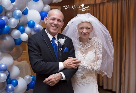 Dying wish granted: NKY woman with terminal cancer gets dream wedding