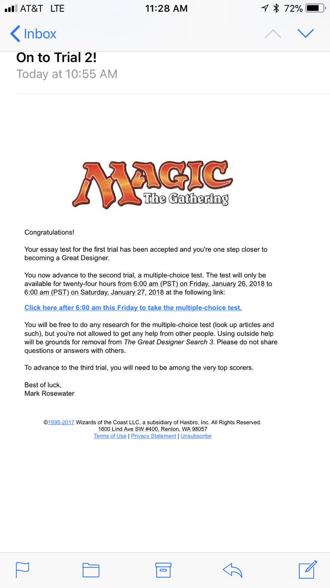 test Twitter Media - How did I make it to round 2? #MTG https://t.co/sgbi2GPOjf