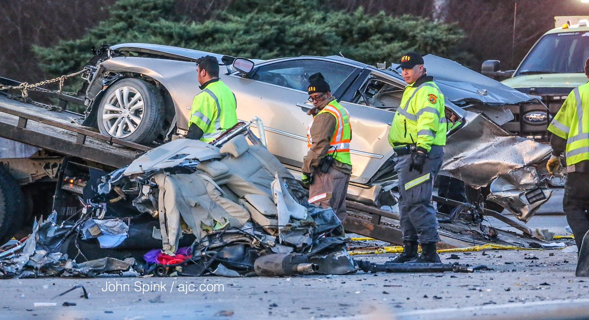 NEW: Victim in deadly crash that blocked I-20 East for more than 4.5 hours ID'd as Demetrius Cotton, 31, of Atlanta. https://t.co/BB9o0c0MZj https://t.co/N3ynGkGMoD
