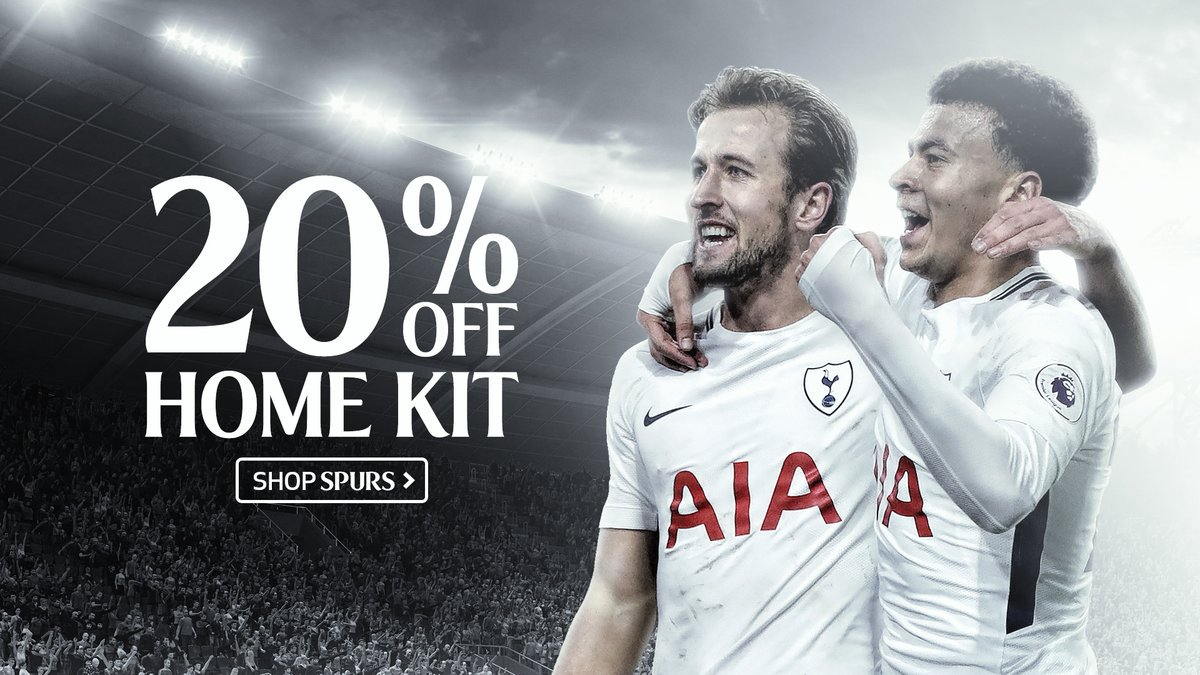There's 2️⃣0️⃣% off all home kit at the moment!   ➡️ Don't miss out - https://t.co/DbZxuAZXBw   #COYS https://t.co/du5kRvhGc8
