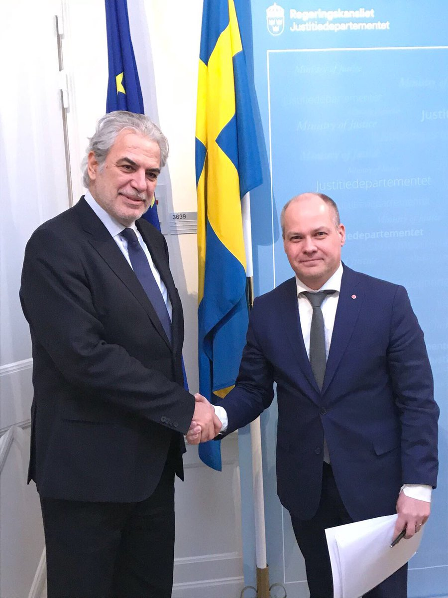 test Twitter Media - Fruitful discussion w/ Sweden's Minister @johanssonmorgan on how to improve our #EUCivPro system. Strengthening our #solidarity & our responsibility will save lives & livelihoods. Stronger response, better #prevention & #preparedness. #rescEU #EUCivPro https://t.co/dt4Gm8UgQH
