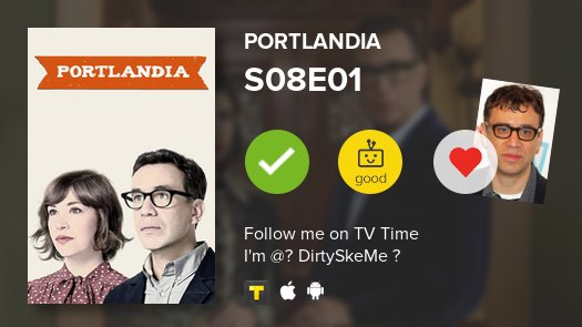 I've just watched Portlandia 'Riot Spray' IMDB: 6.92/10 #portlandia  #tvtime https://t.co/7bQIch0ZpE https://t.co/kdPAXVNUmq