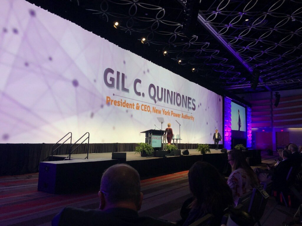 Gil C. Quinones, President & CEO of @NYPAenergy speaking at #DTECH2018. https://t.co/FEV6RoPfcZ