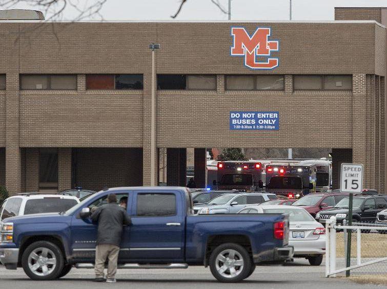 'RUNNING, CRYING, SCREAMING': 1 dead, 9 injured in Kentucky HIGH school shooting; suspect held
