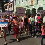 Hundreds Rally in St. Croix Women's March