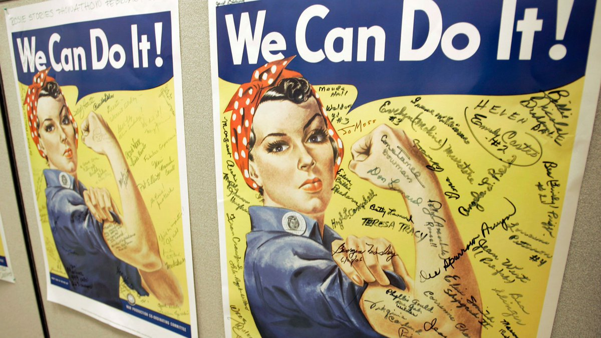 Woman who was credited as inspiration for 'Rosie the Riveter' dies at 96