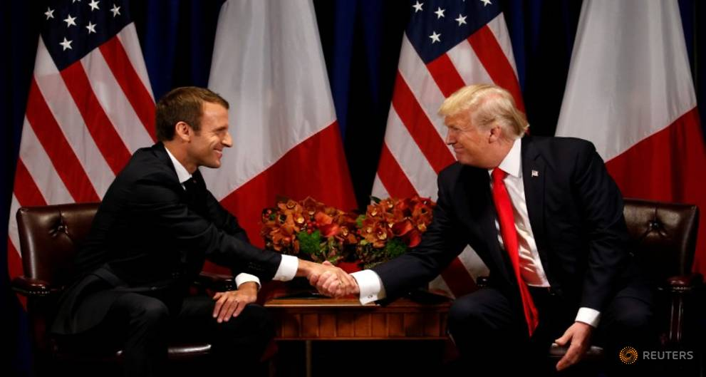 Trump to host first state visit of his presidency for France's Macron