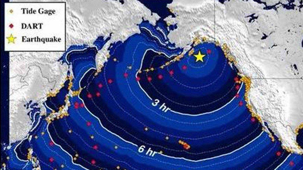 7.9 Kodiak quake felt in Anchorage 300 miles away